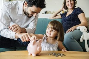 Family investing in savings