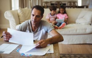 Father considering life insurance